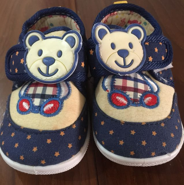 Teddy Bear Shoes - Size 17