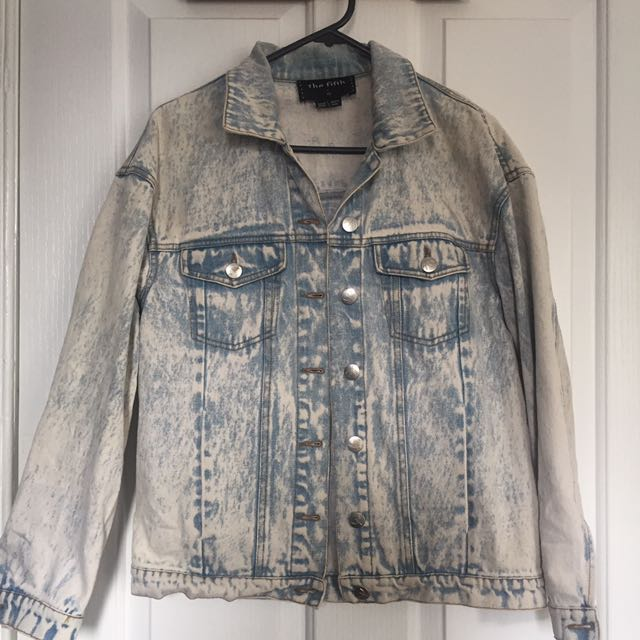 The fifth label Denim Jacket Size XS/6-8
