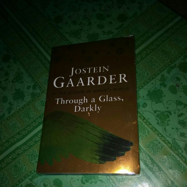 Through a glass darkly by jostein gaarder books books on carousell fandeluxe Images
