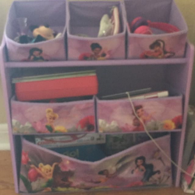Tinkerbell toy storage