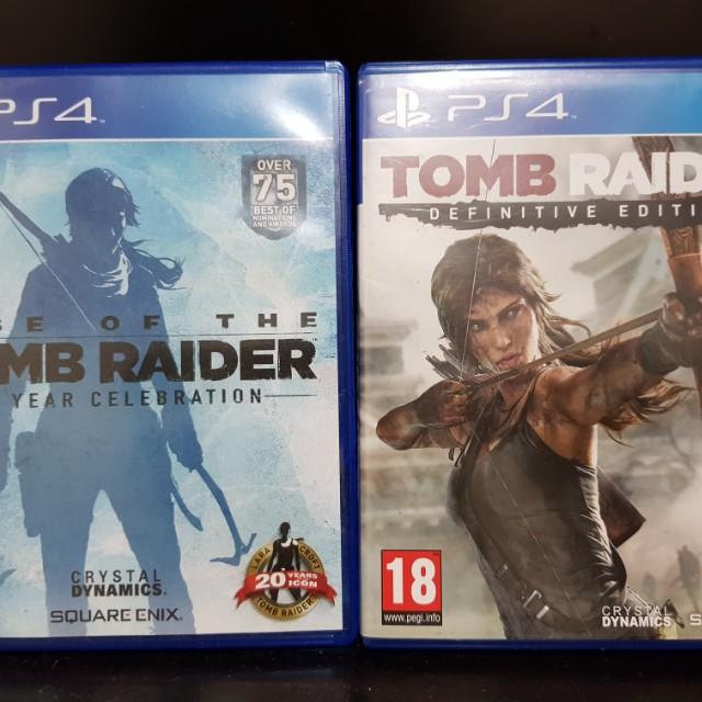tomb raider 1 game ps4