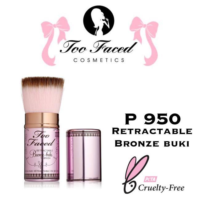 Too faced bronze buki retractable brush