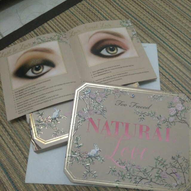 Too Faced Natural Love 30色眼影盤
