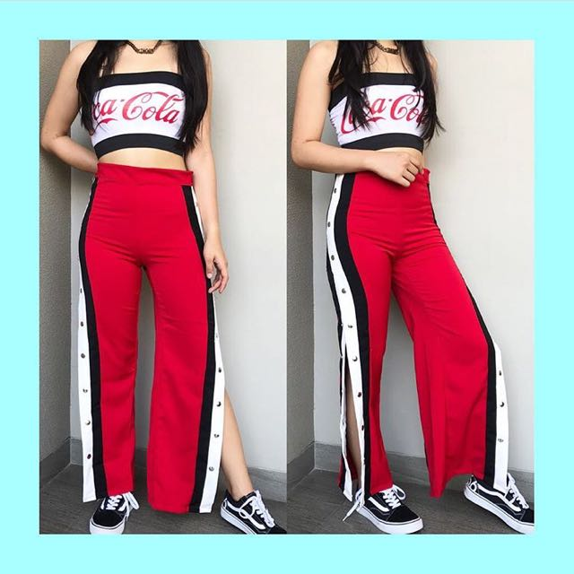 Trousher Button Red & Coca Cola Kemben