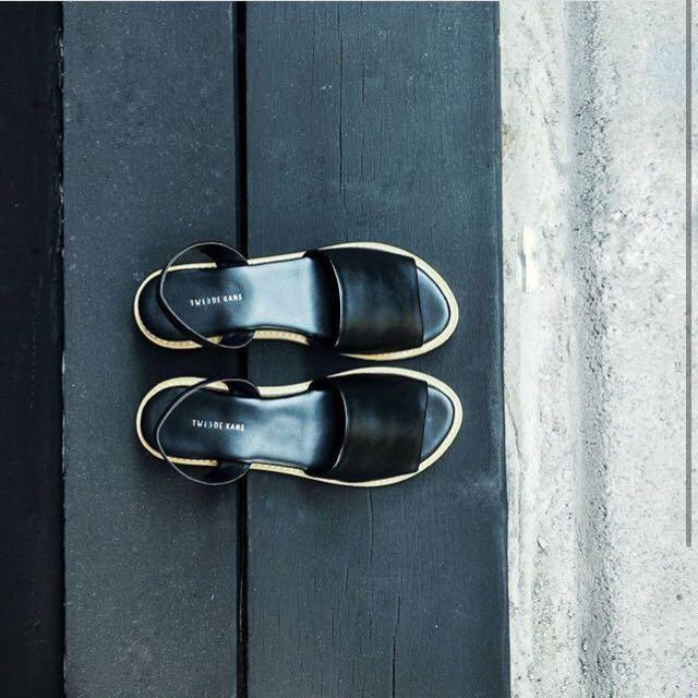 Tweede Kans GWEN Black Sandal