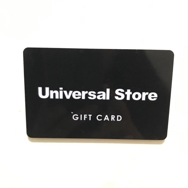 Universal Store Gift Card