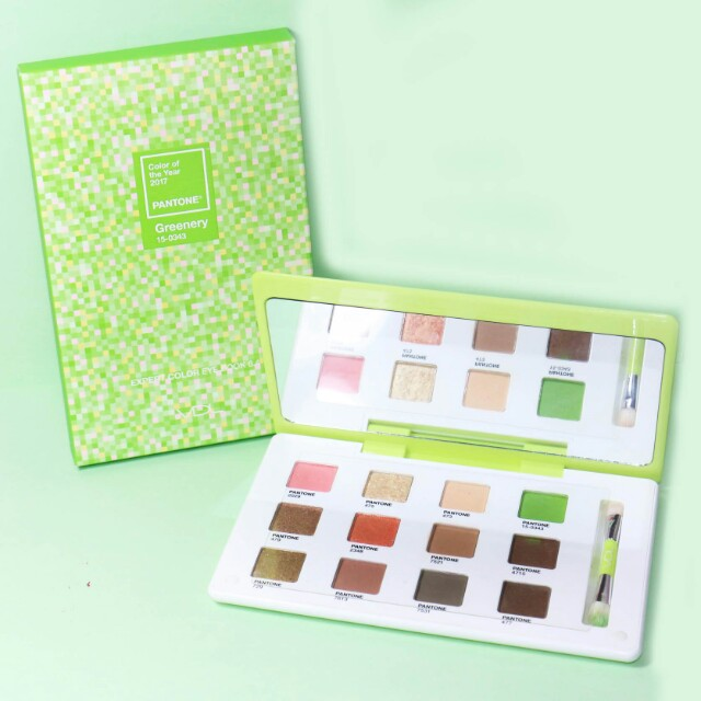 VDL GREENERY EYESHADOW PALETTE
