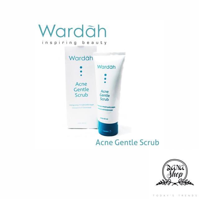 WARDAH acne gentle scrub, Kesehatan & Kecantikan, Kulit, Sabun & Tubuh di Carousell