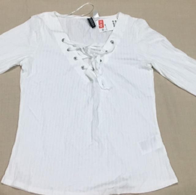 White Longsleeve tops