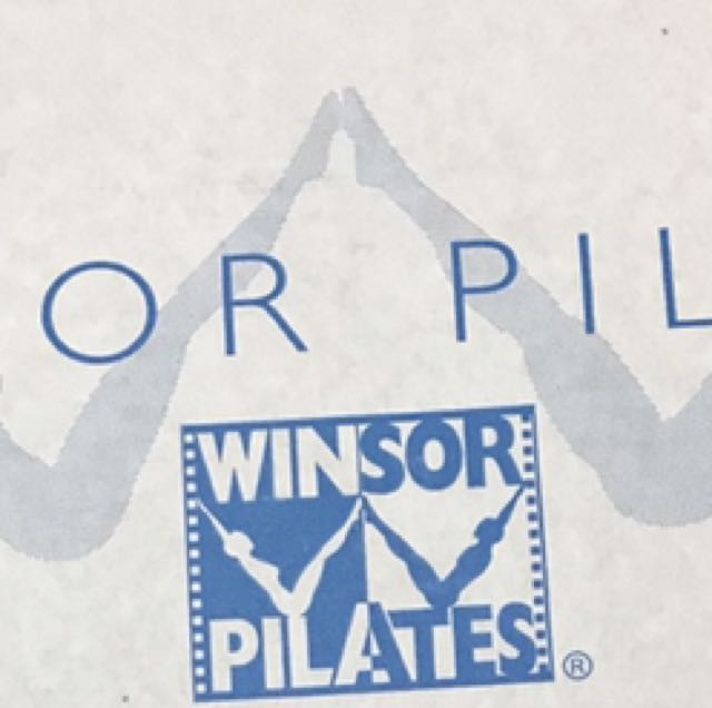 Windsor Pilates workout DVD set