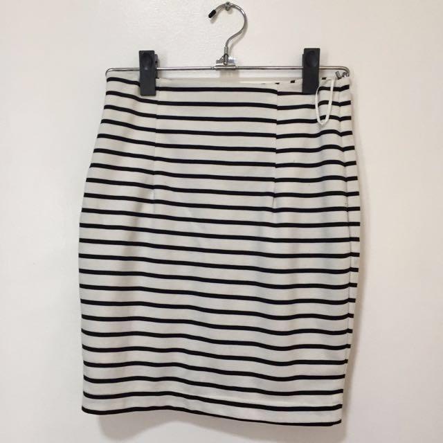 WWW Stripes Skirt