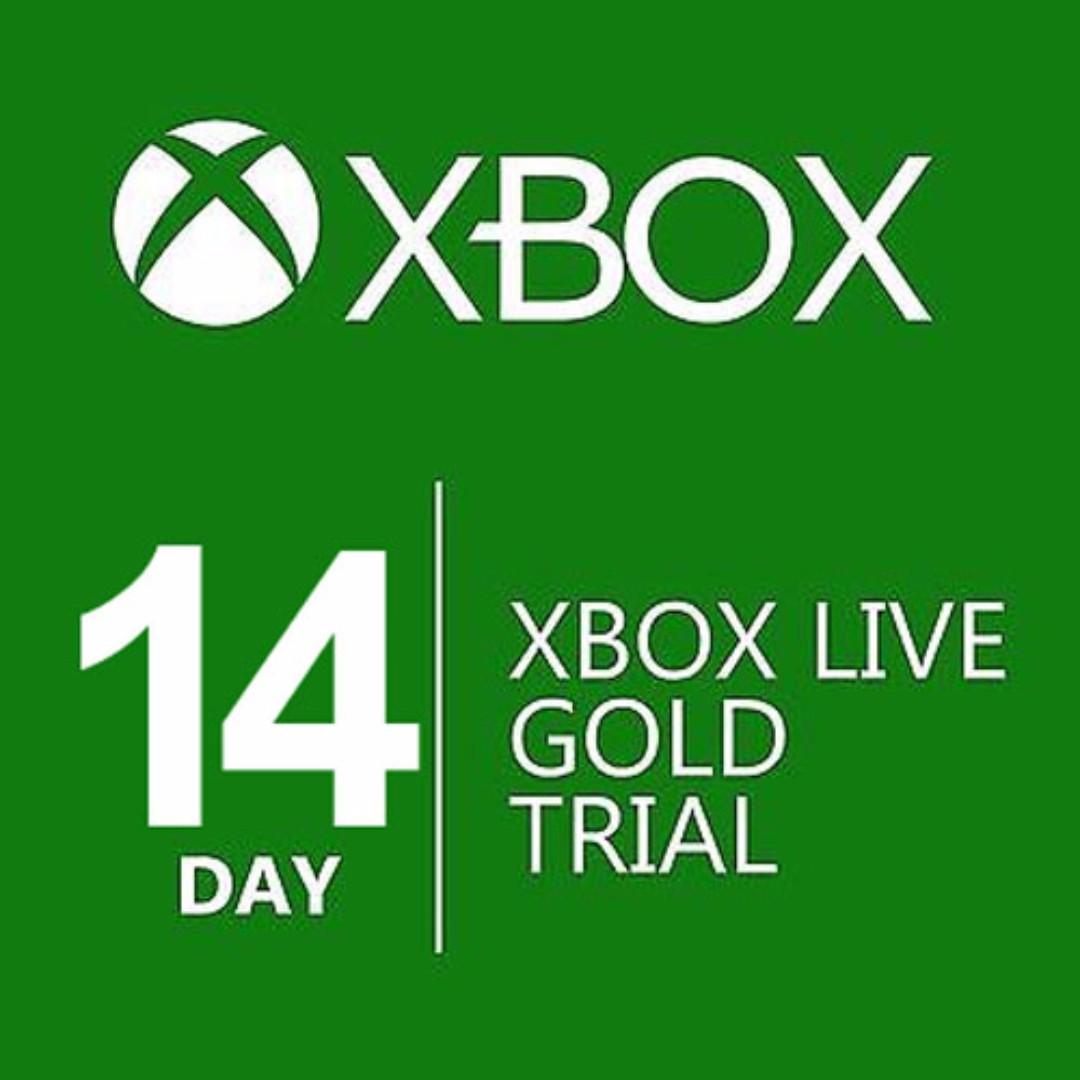 XBox Live Gold Membership 14 Days Digital Code Fully