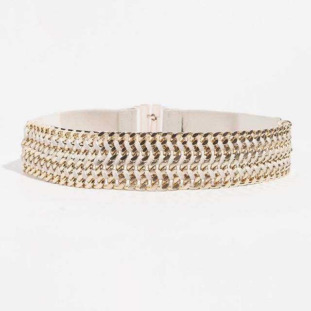 Zara Chain Buckle Belt