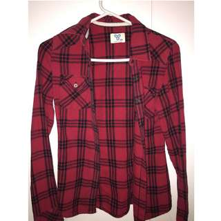 Aritzia TNA Fall Plaid
