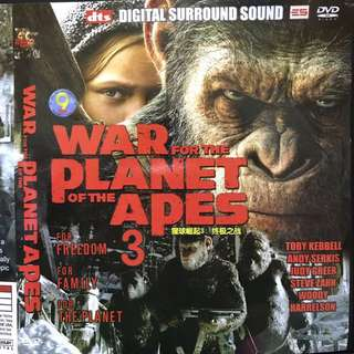 War For The Planet Of The Apes 3