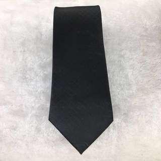 Black Textured Tie