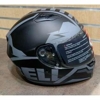 Bell Qualifier Adult Full Face Street Helmet (Momentum Black, XX-Large) (D.O.T.-Certified) Motorbike Motorcycle Helmet