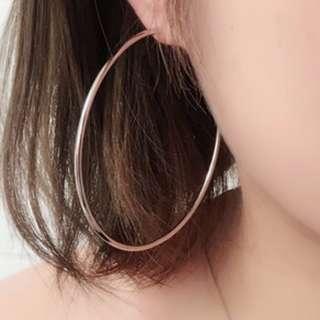 korean-ish large earrings as seen on kiko!