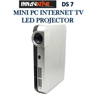 Innovative ★ DS 7 MINI PC INTERNET TV TRUE 3D LED PROJECTOR