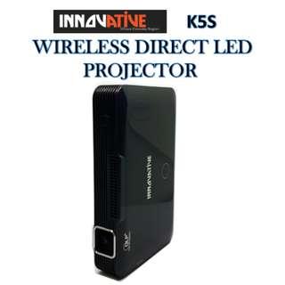 Innovative ★ K5S WIRELESS DIRECT LED PROJECTOR