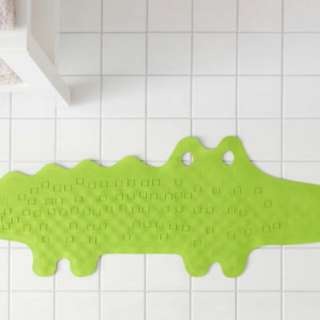 PATRULLBathtub mat, crocodile green,33x90 cm