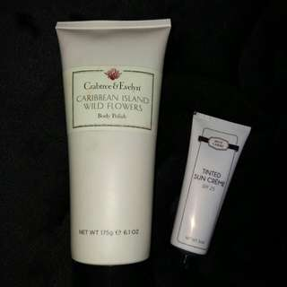 Crabtree & Evelyn Body Polish