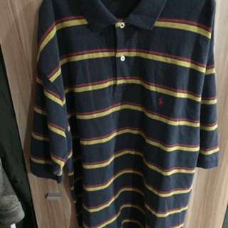 Ralph Lauren Stripe Polo Size XL
