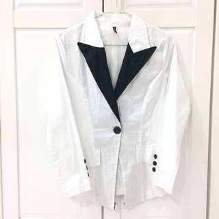 Basic Monochrome Blazer