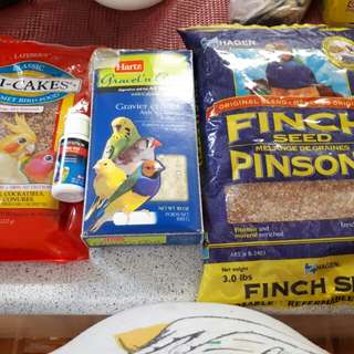 Small and Medium sized bird essentials