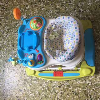 Babyone baby,toddler 2 in 1 walker N rocker chairs