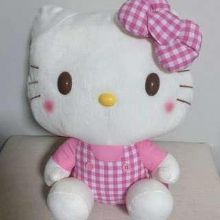 New With Tag. Hello Kitty in Pink Jumper Suit.