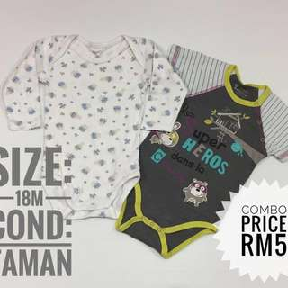 Combo Baby Rompers (Imported Preloved)