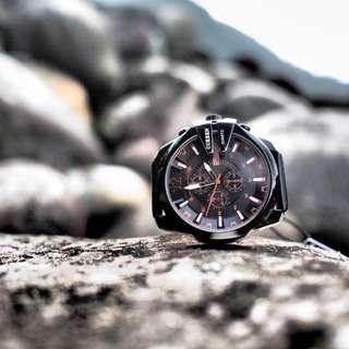 🚚 Curren Diesel style quartz watch