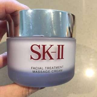 SK II facial treatment massage cream
