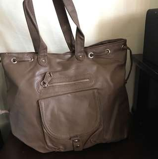 Brown Tote Bag - Never used