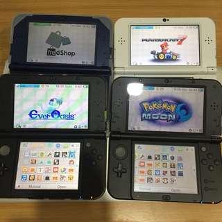 $50 - ALL Console 3DS XL 2DS Modding Service ALL Firmware 30 Min