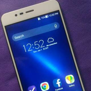 Asus zenfone 3 max wd fingerprint scanner  3gig ram 32g internal 13mp 4glte 4100mah batery high gpu android nougat7.0