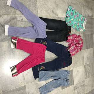 Pre loved girls clothes
