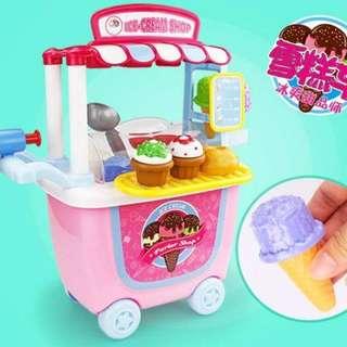 Trolley Toy Set - Ice Cream Shop