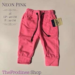 Jogger Oshkosh - Neon Pink