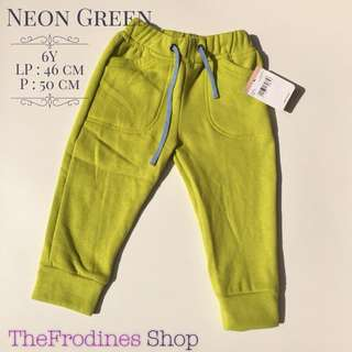 Jogger Oshkosh - Neon Green