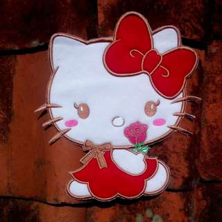 Back Patch Hello Kitty