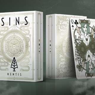 SINS Limited Edition Playing (Set of 3 decks + Atra Obolus coin)