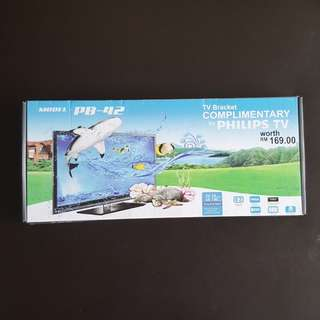 Wall-Mount Bracket for Flat Panel TV