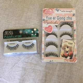 Ardell Wispies + other False Lashes