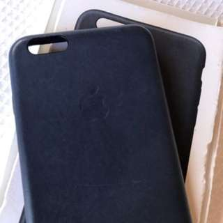 6/6s Plus Genuine Apple Leather Case