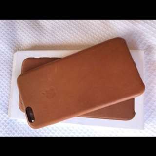 IPhone 6/6s Plus Case genuine Apple tan leather