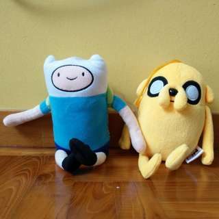 Adventure Time Finn & Jake soft toys