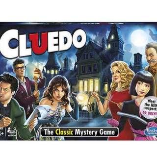 HASBRO - Cluedo the classic mystery game