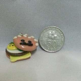 Burger charms